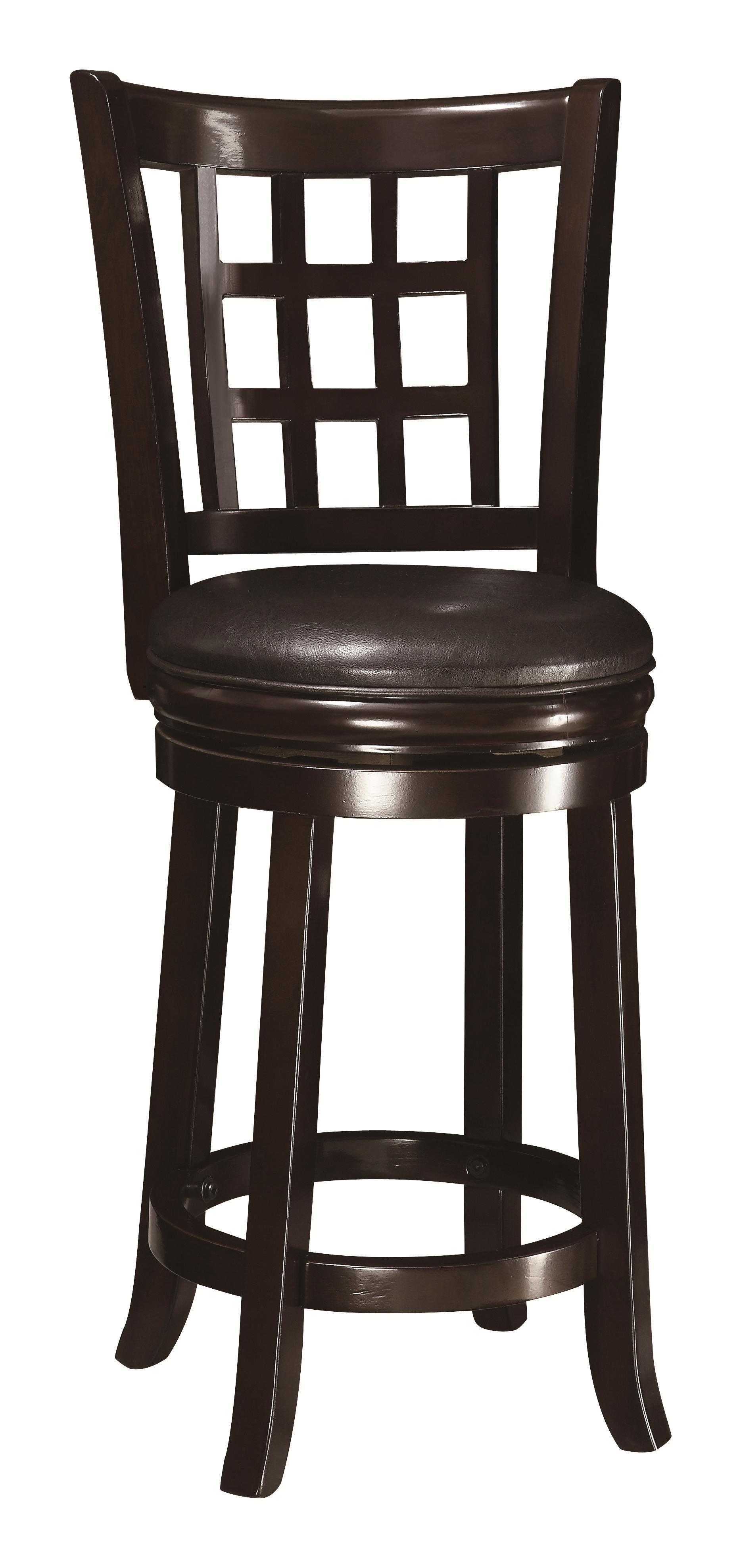 "Coaster Dining Chairs and Bar Stools 24""H Bar Stool - Item Number: 102649"