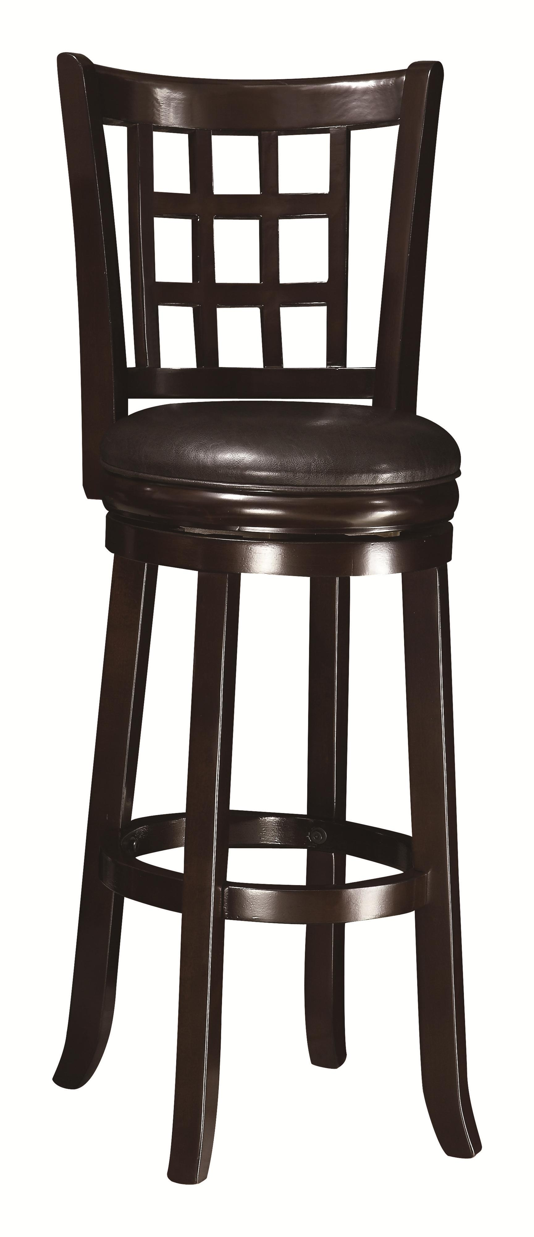 """Coaster Dining Chairs and Bar Stools 29""""H Bar Stool - Item Number: 102650"""