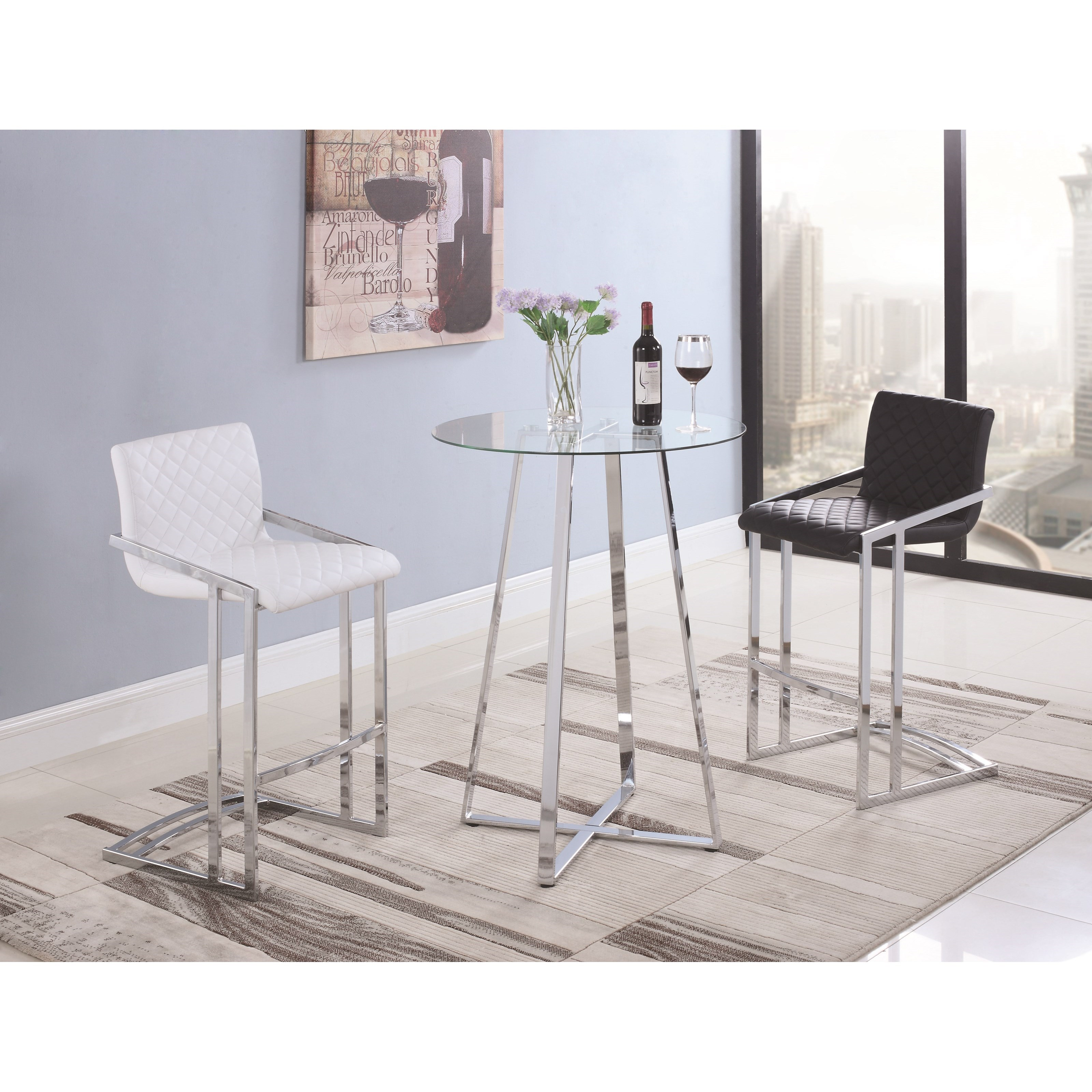 Coaster Dining Chairs And Bar Stools 104876 Contemporary