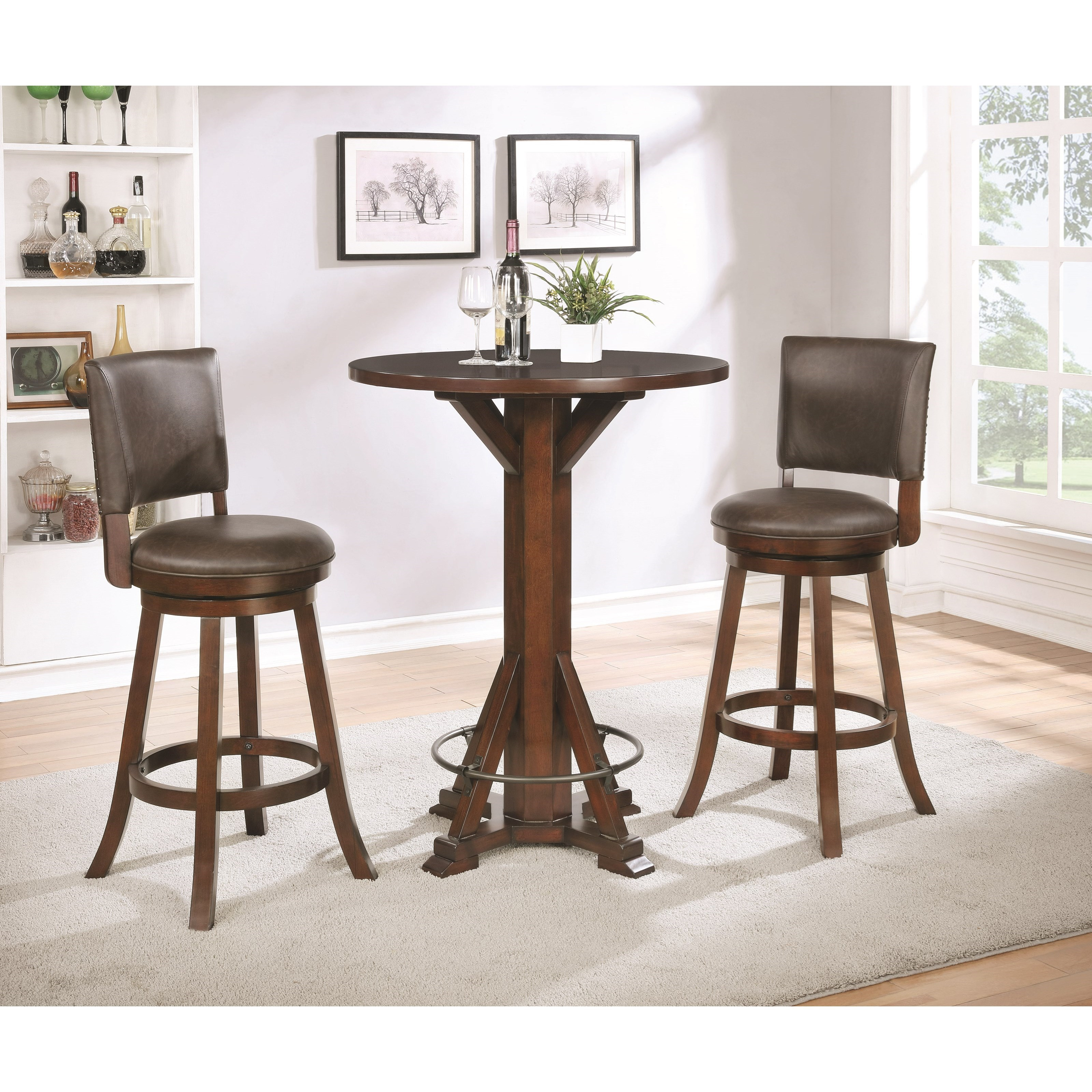 Coaster Dining Chairs And Bar Stools Traditional