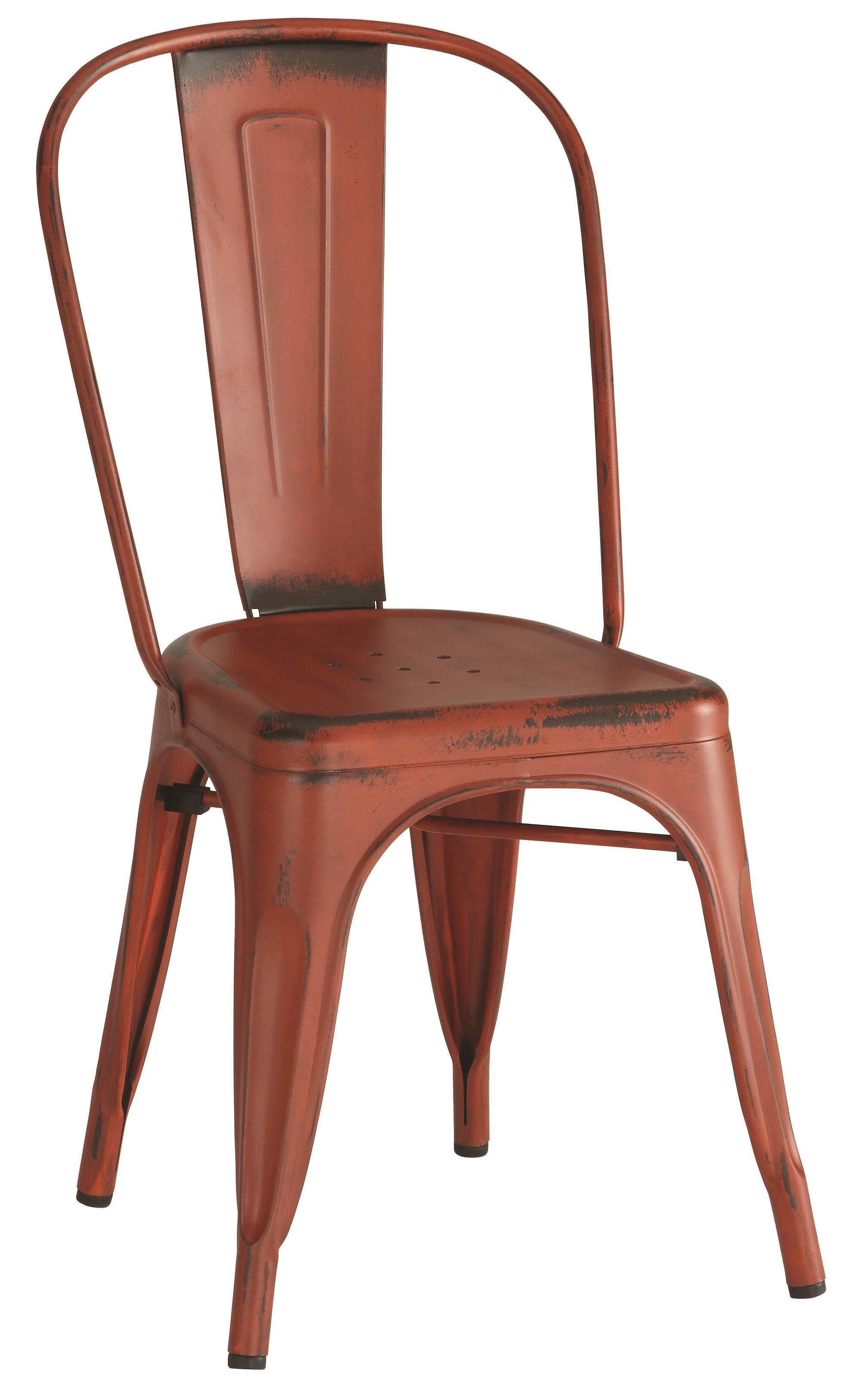 Coaster Dining Chairs and Bar Stools Metal Chair - Item Number: 105613