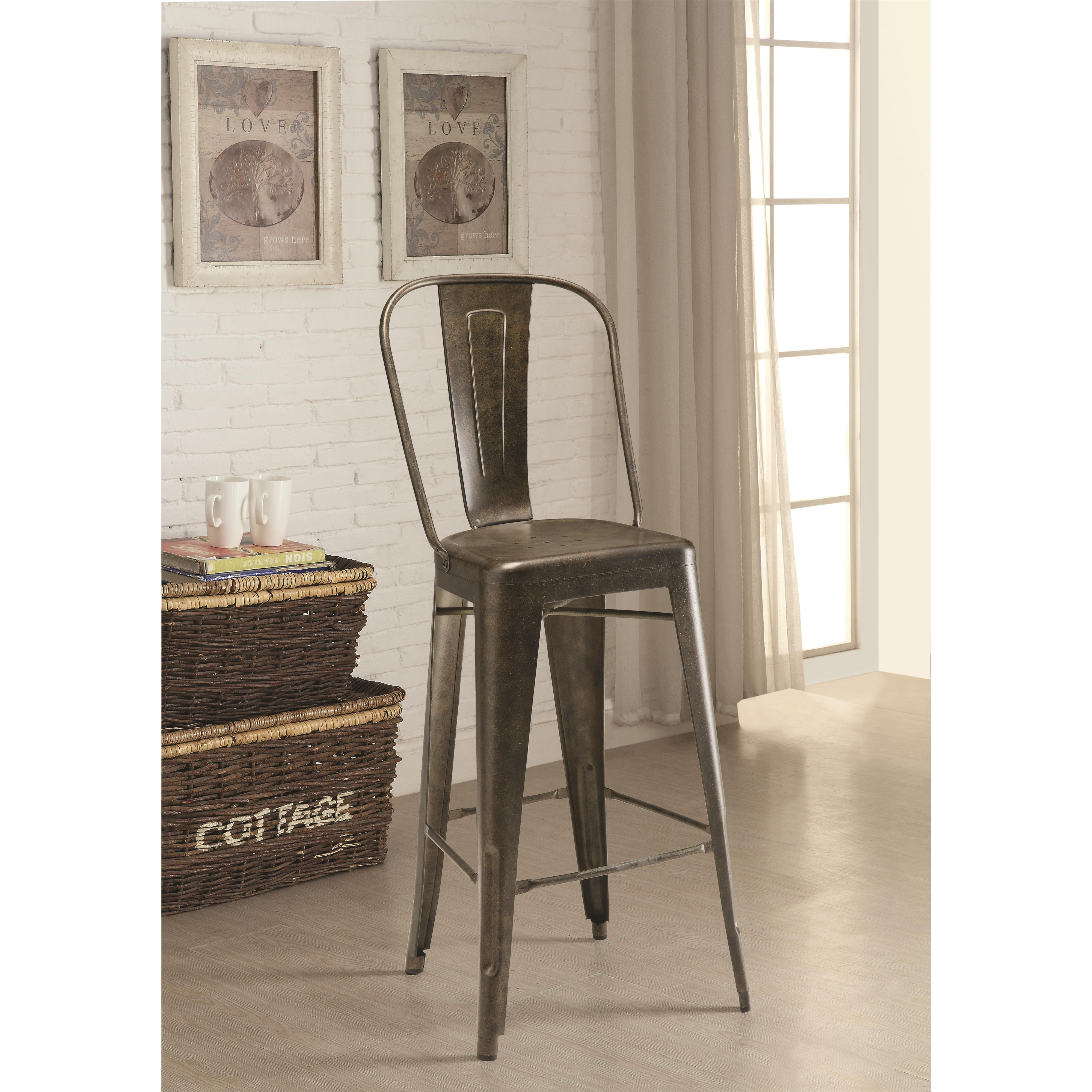 Coaster Dining Chairs and Bar Stools Bar Stool - Item Number: 106016