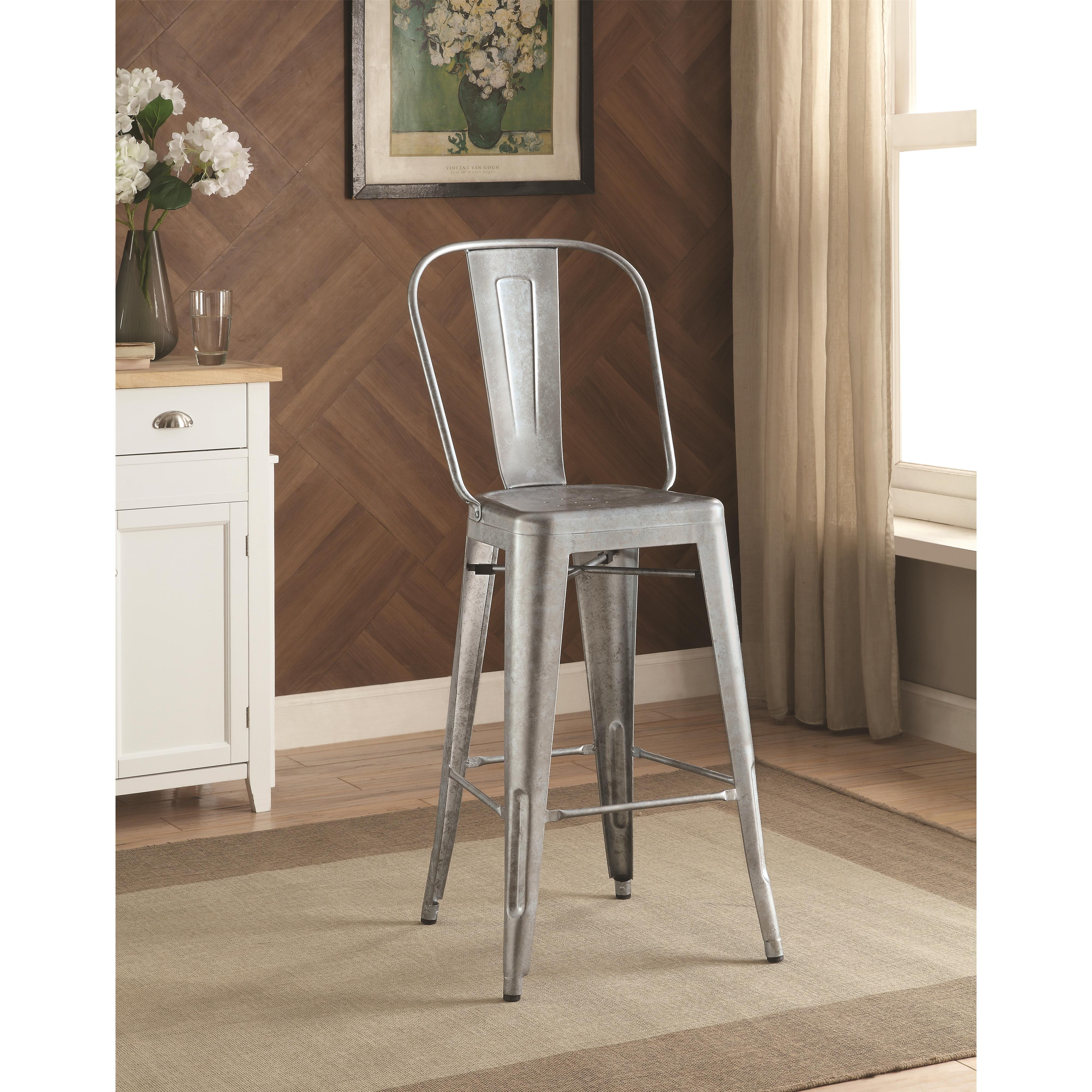Coaster Dining Chairs and Bar Stools Bar Stool - Item Number: 106017