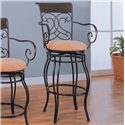 "Coaster Dining Chairs and Bar Stools 29"" Metal Bar Stool - Item Number: 120019"