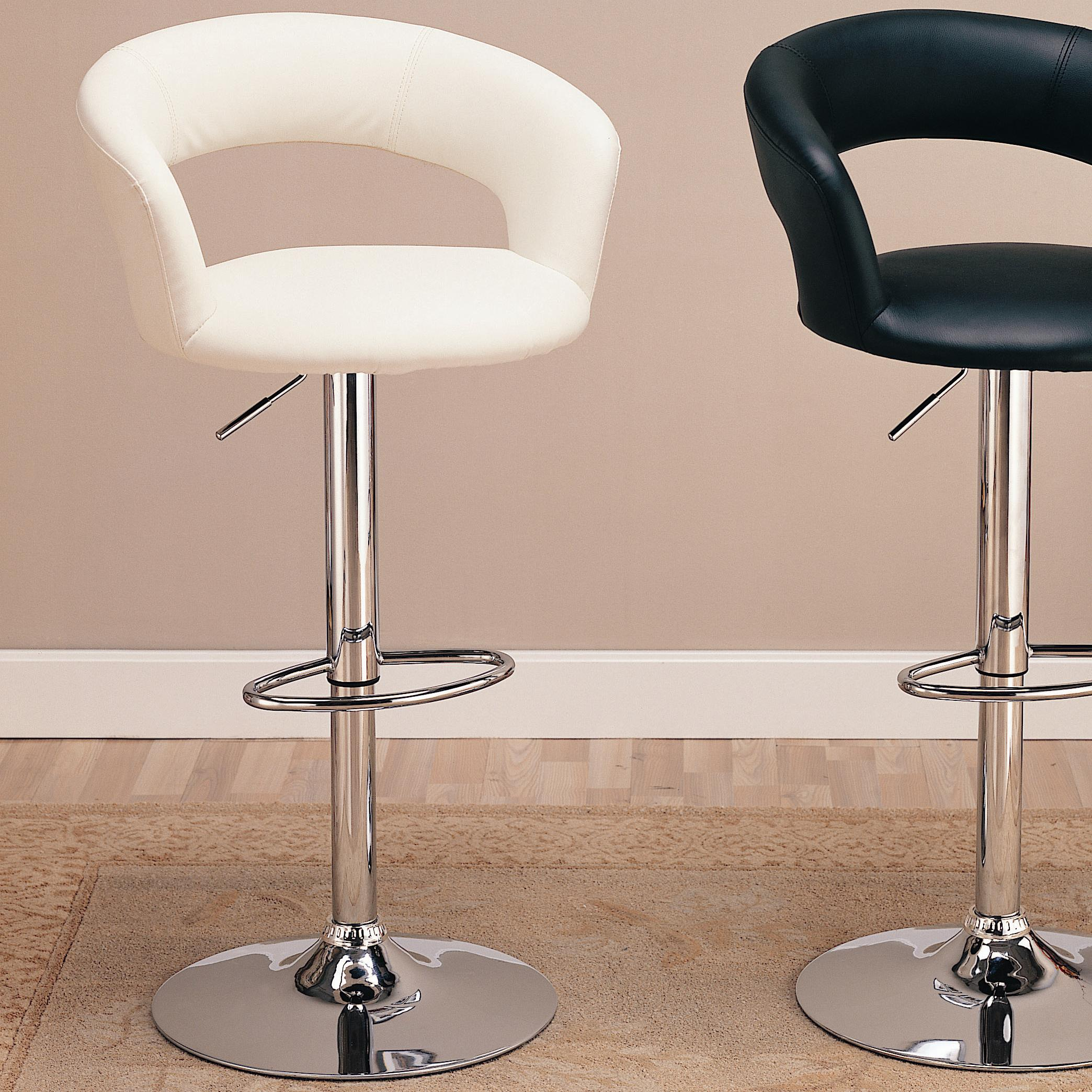 """Coaster Dining Chairs and Bar Stools 29"""" Upholstered Bar Chair - Item Number: 120347"""