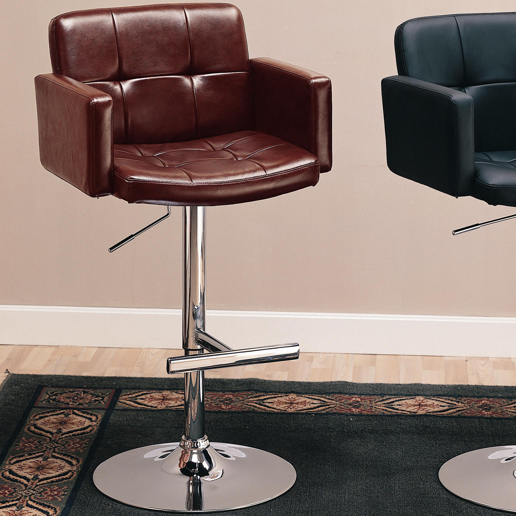 "Coaster Dining Chairs and Bar Stools 29"" Upholstered Bar Chair - Item Number: 120348"