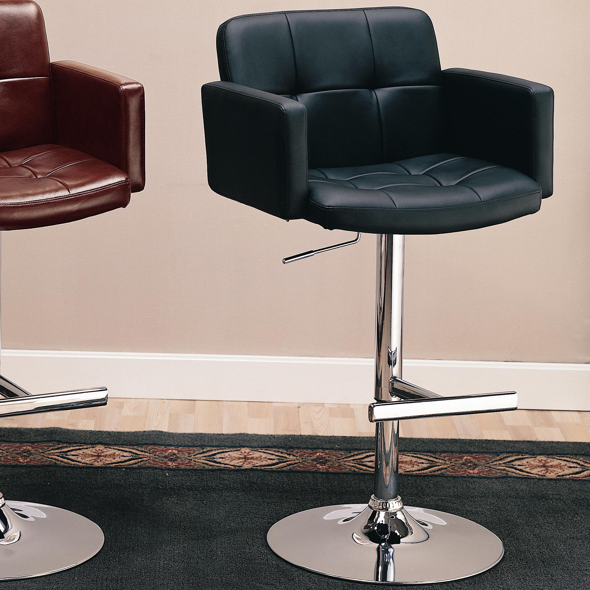 """Coaster Dining Chairs and Bar Stools 29"""" Upholstered Bar Chair - Item Number: 120352"""