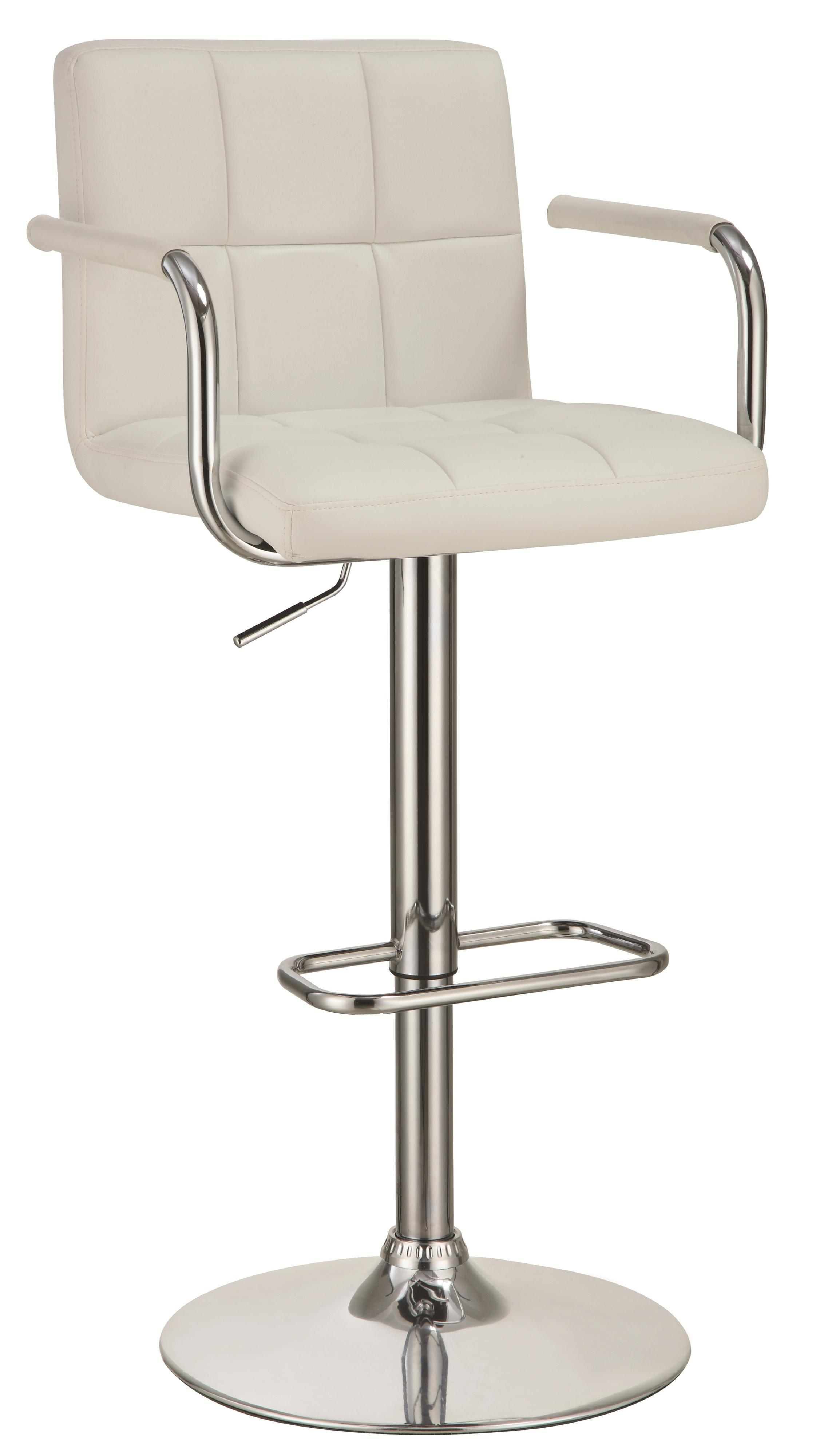 Coaster Dining Chairs and Bar Stools Adjustable Bar Stool - Item Number: 121097