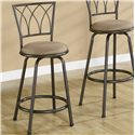 "Coaster Dining Chairs and Bar Stools 24"" Metal Bar Stool - Item Number: 122019"