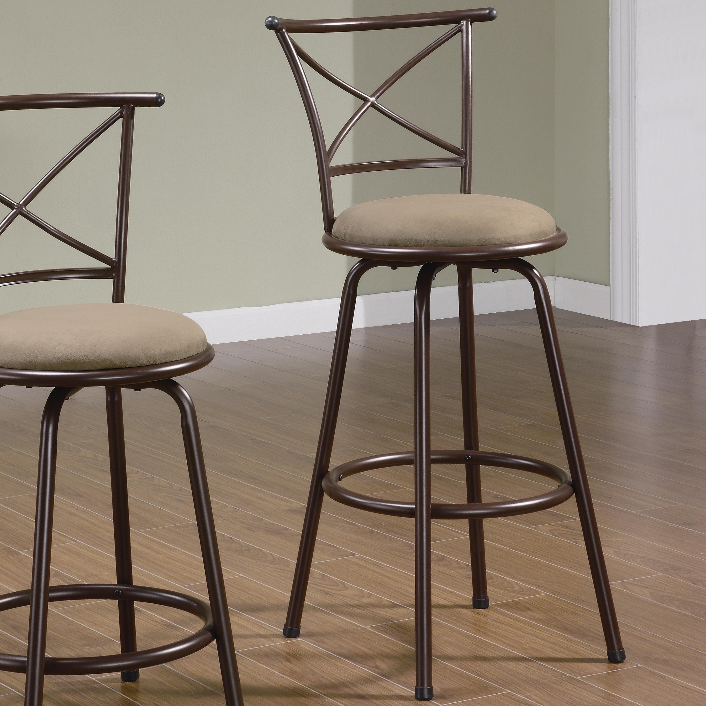"Coaster Dining Chairs and Bar Stools 29"" Metal Bar Stool - Item Number: 122030"