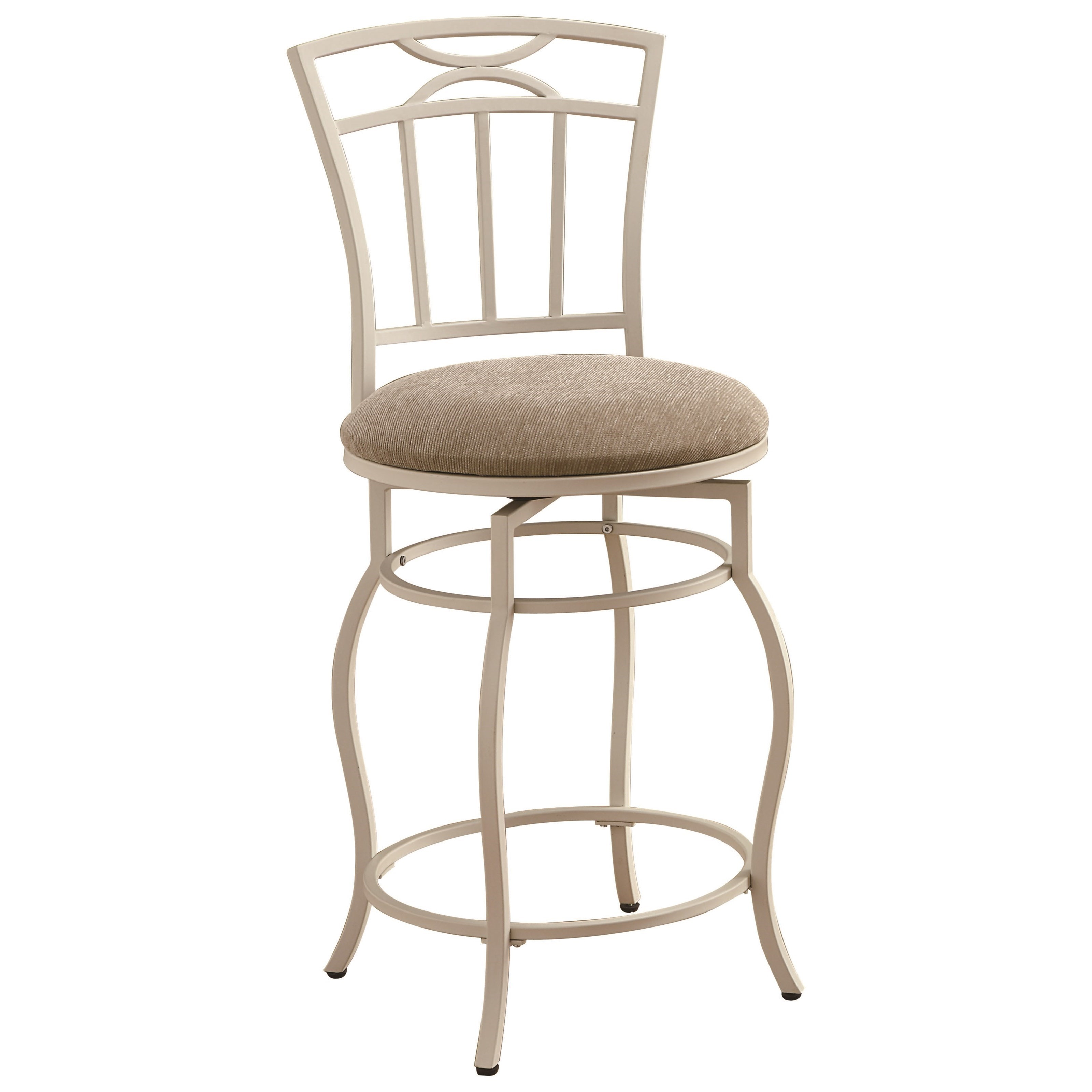 Coaster Dining Chairs And Bar Stools 24 White Metal Barstool With