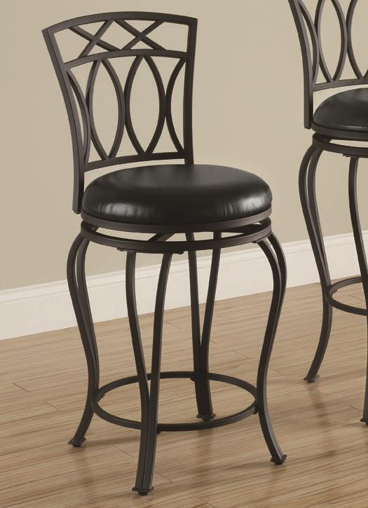 "Coaster Dining Chairs and Bar Stools 24"" Barstool - Item Number: 122059"