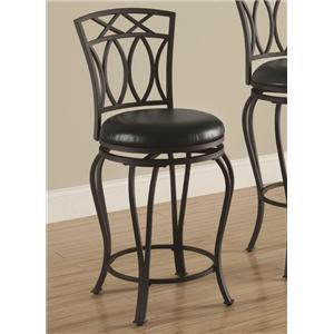 "Coaster Dining Chairs and Bar Stools 24"" Barstool"