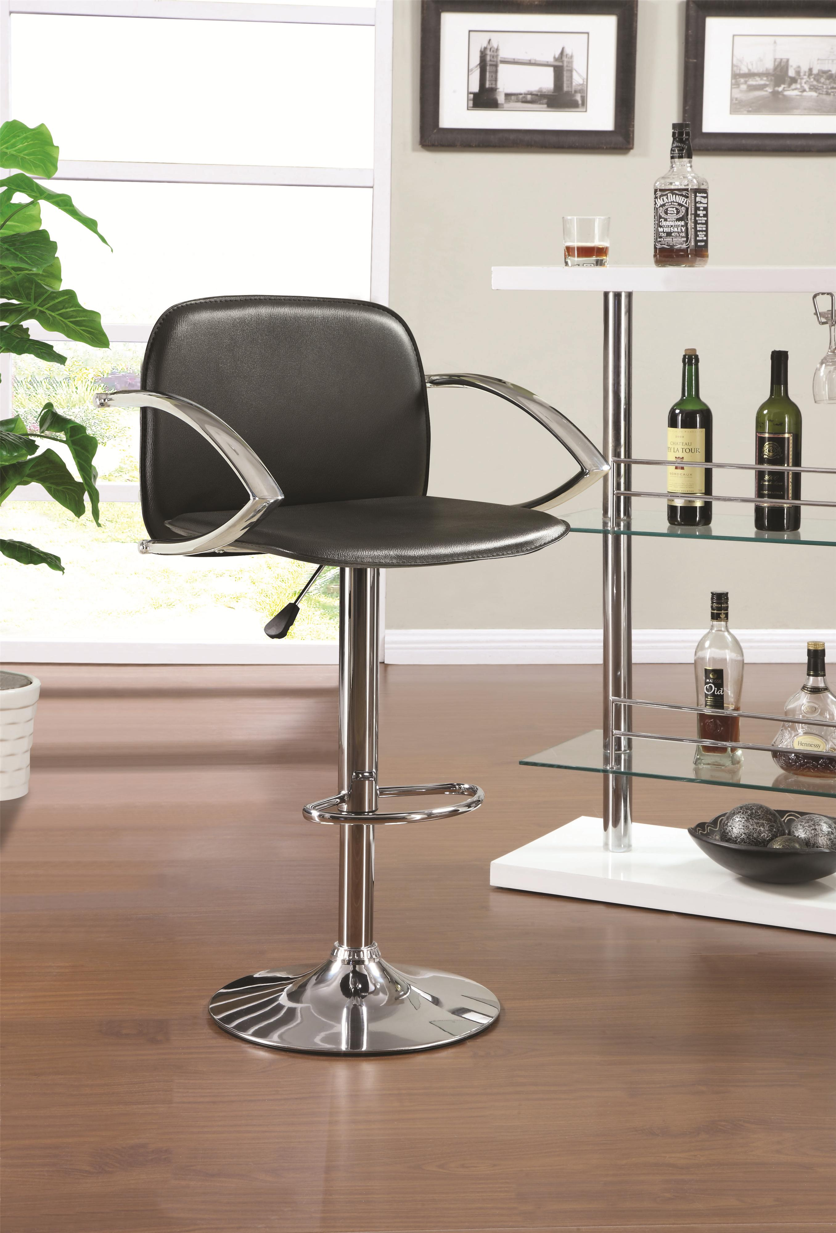 Coaster Dining Chairs and Bar Stools Adjustable Bar Stool - Item Number: 122093