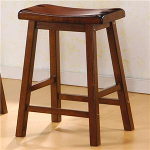 Coaster Dining Chairs and Bar Stools Wooden Bar Stool