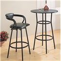 Coaster Dixie Round Bar Table - Bar Stool is No Longer Available