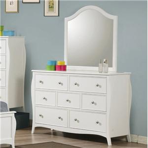 Coaster Dominique Dresser w/ Mirror