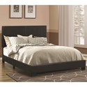 Coaster Dorian Black Twin Bed - Item Number: 300761T