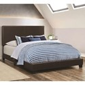 Coaster Dorian Brown Twin Bed - Item Number: 300762T