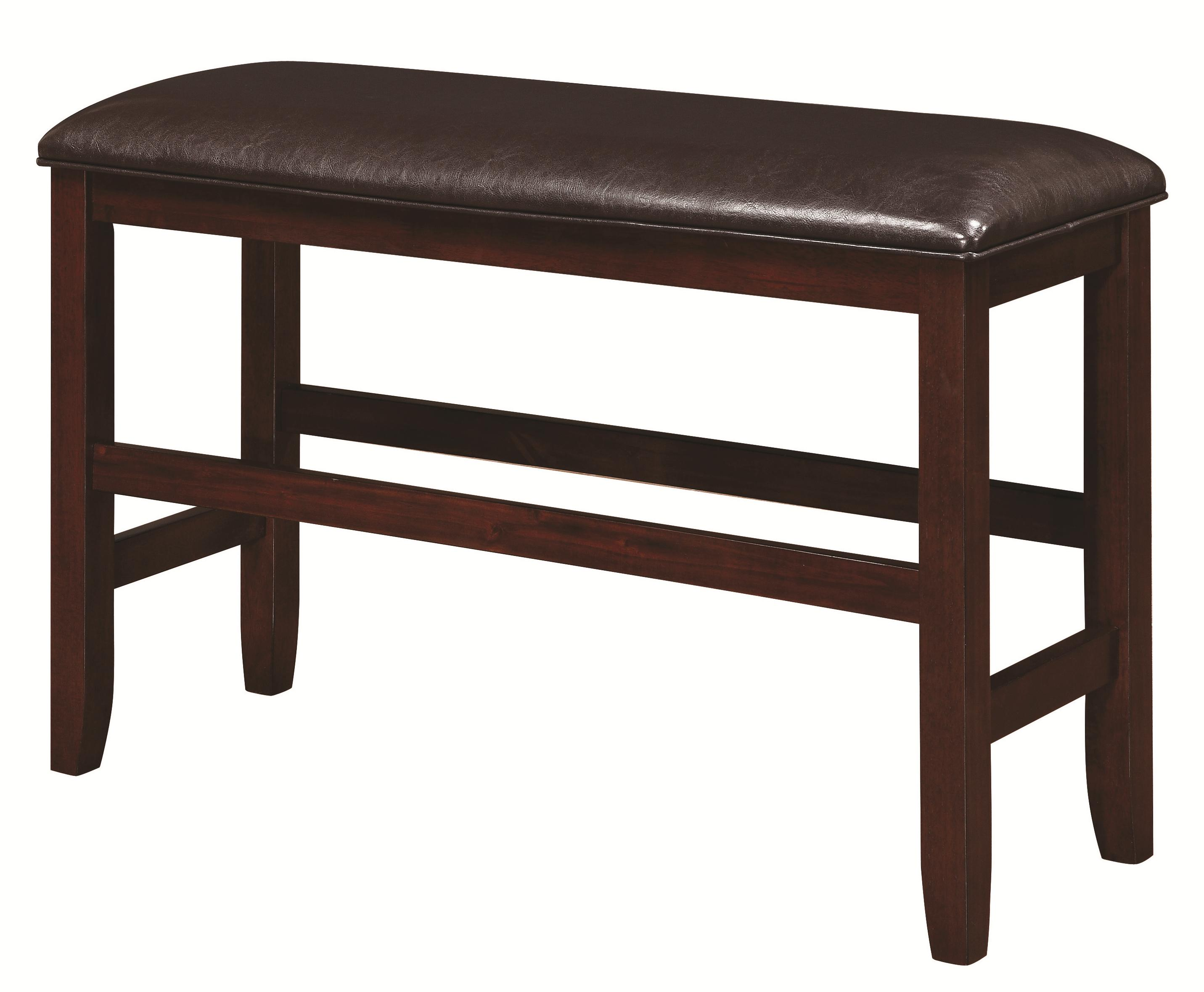 Coaster Dupree Counter Height Bench - Item Number: 105477