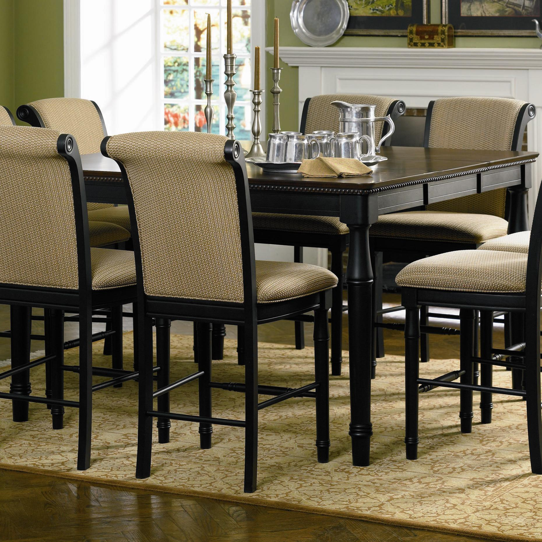 Coaster Cabrillo Counter Height Dining Table With Leaf