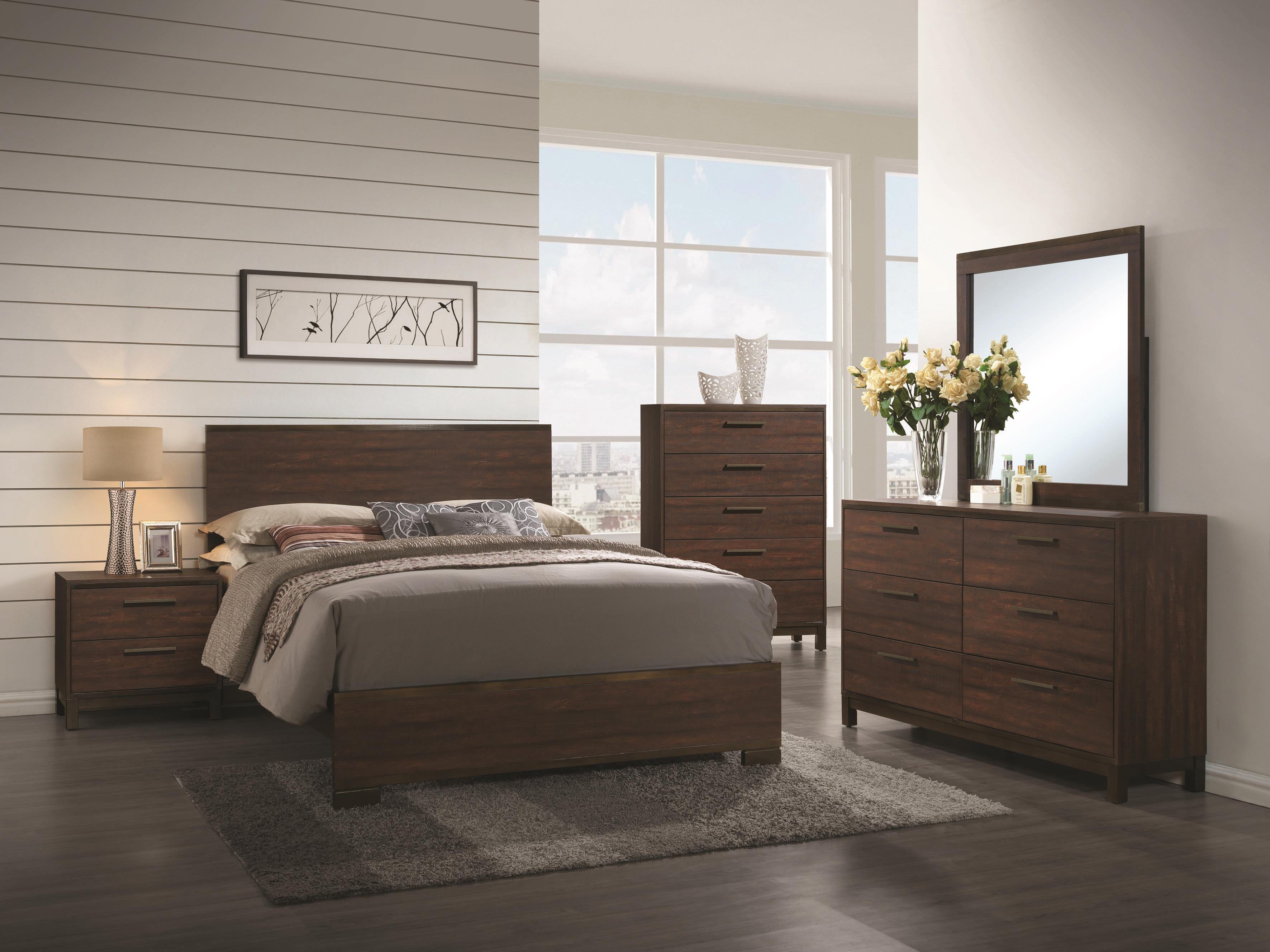 Coaster Edmonton California King Bedroom Group - Item Number: 2043 CK Bedroom Group 1
