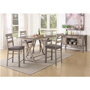 Coaster Edmonton Casual Dining Room Group
