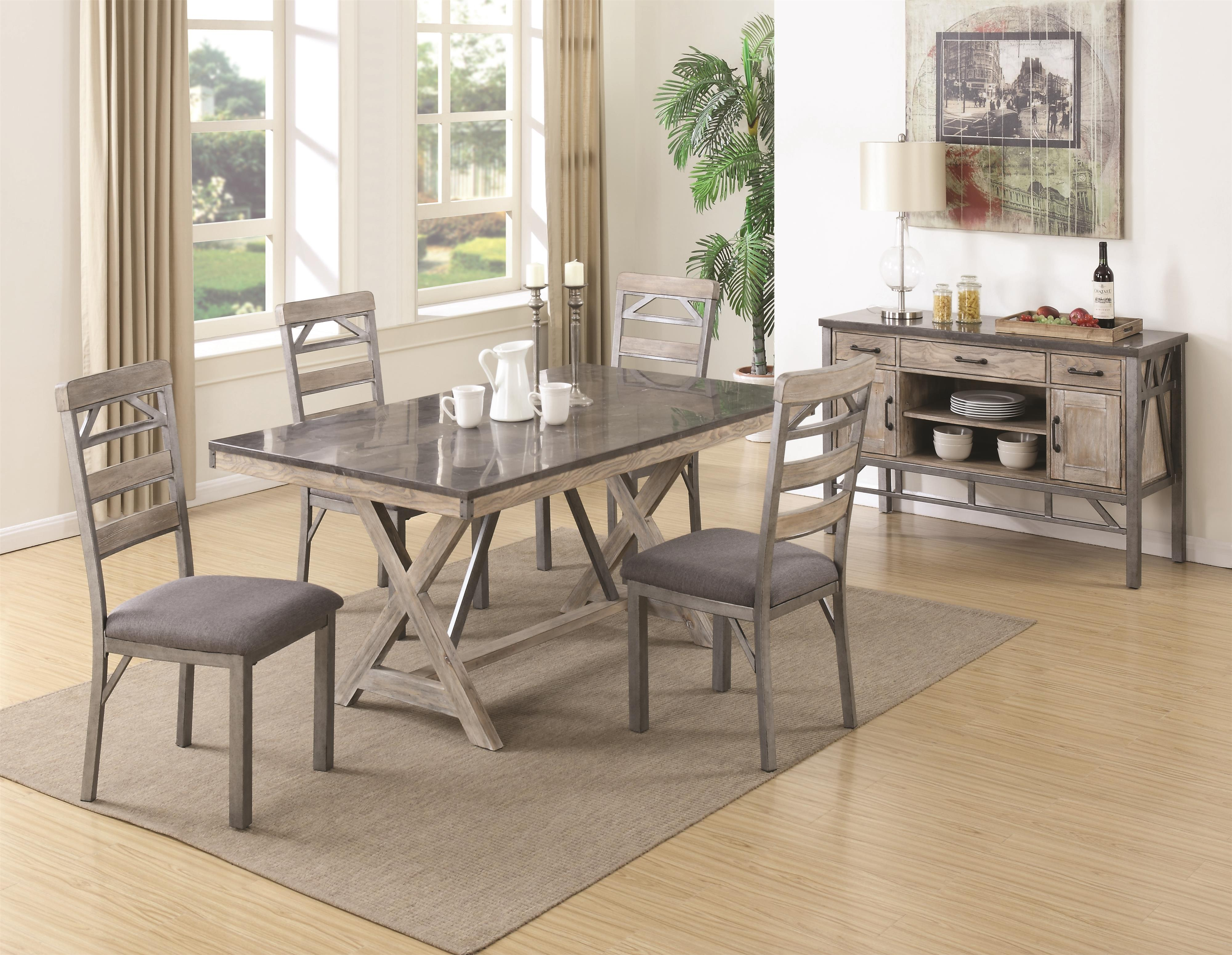Coaster Edmonton Formal Dining Room Group - Item Number: Formal Dining Room Group 1