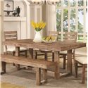 Coaster Elmwood Dining Table - Item Number: 105541