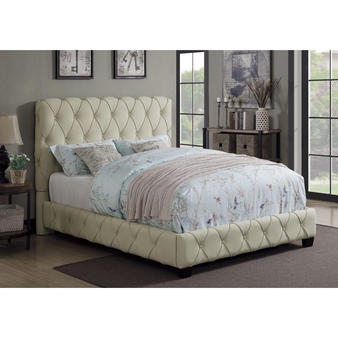 Upholstered Full Bed