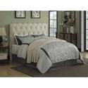 Coaster Elsinore Upholstered Queen Bed Headboard - Item Number: 300684QB1
