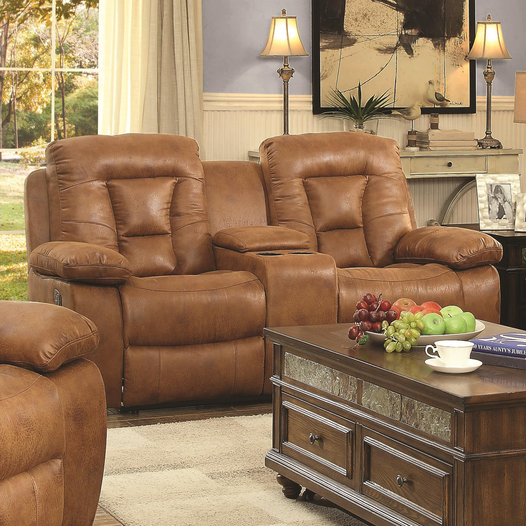 Coaster Evensky Power Loveseat - Item Number: 601865P