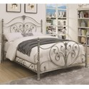 Coaster Evita California King Metal Bed - Item Number: 300608KW