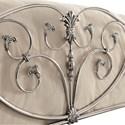 Coaster Evita Queen Metal Bed with Elegant Scrollwork