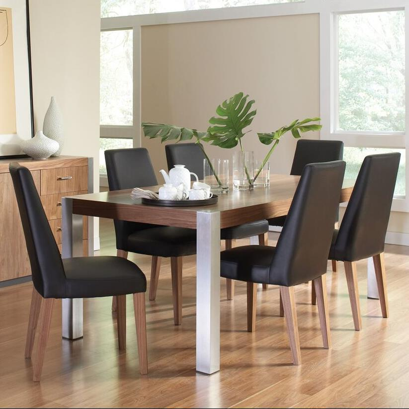 Coaster Faccini 7 Piece Dining Set - Item Number: 106431+6x106432