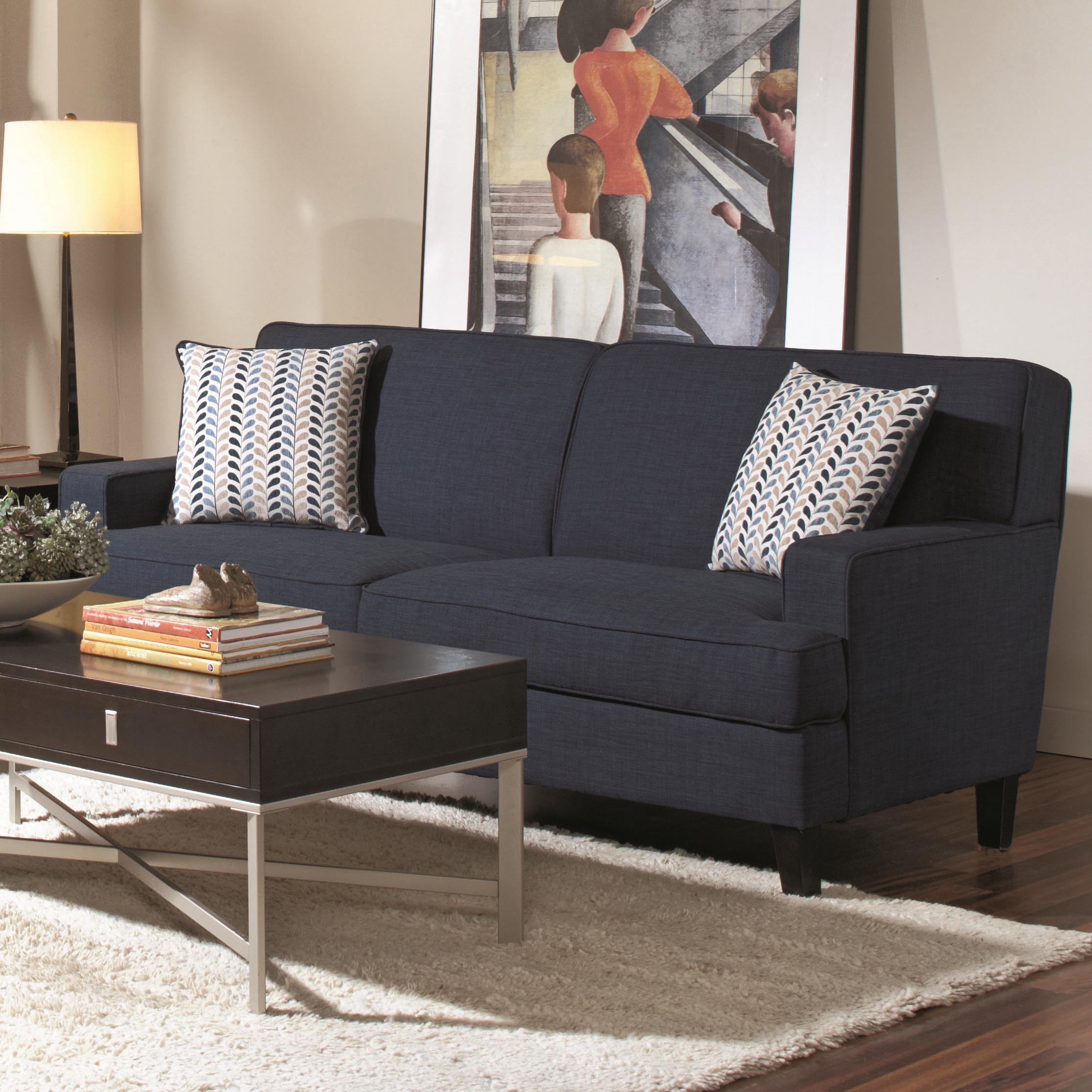 Coaster Finley Transitional Styled Sofa With Track Arms