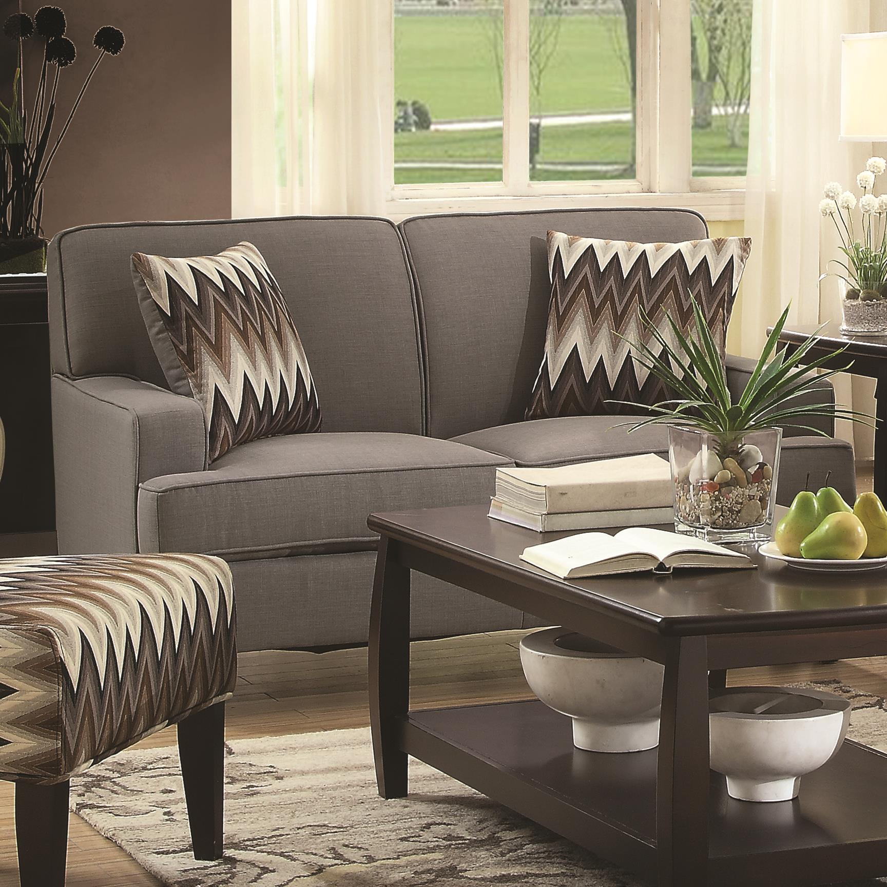 Coaster Finley Love Seat - Item Number: 505032