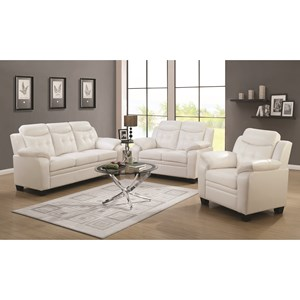 Coaster Finley Stationary Living Room Group