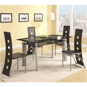 Coaster Fontana Table and Chair Set