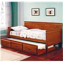 Coaster Fountain Daybed - Item Number: 300036OAK