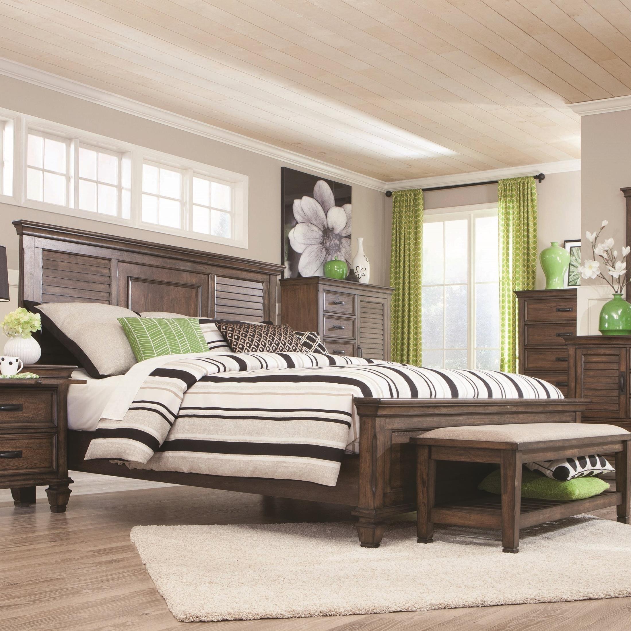 Coaster Franco King Bed - Item Number: 200971KE
