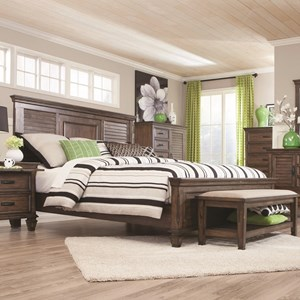 Coaster Franco Queen Bed