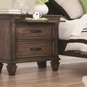 Coaster Franco Nightstand - Item Number: 200972