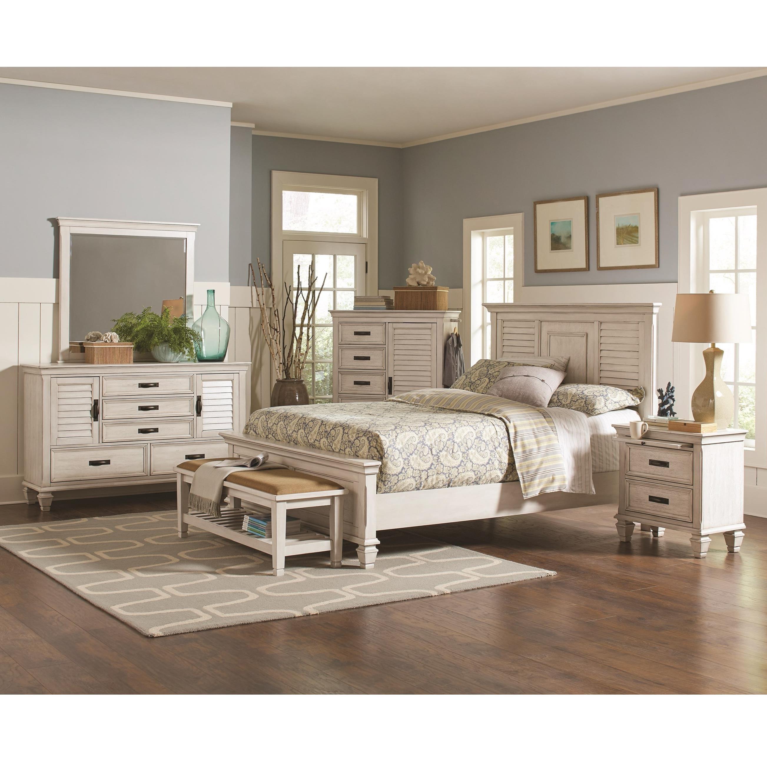 Coaster Franco Queen Bedroom Group - Item Number: 20533 Q Bedroom Group 1