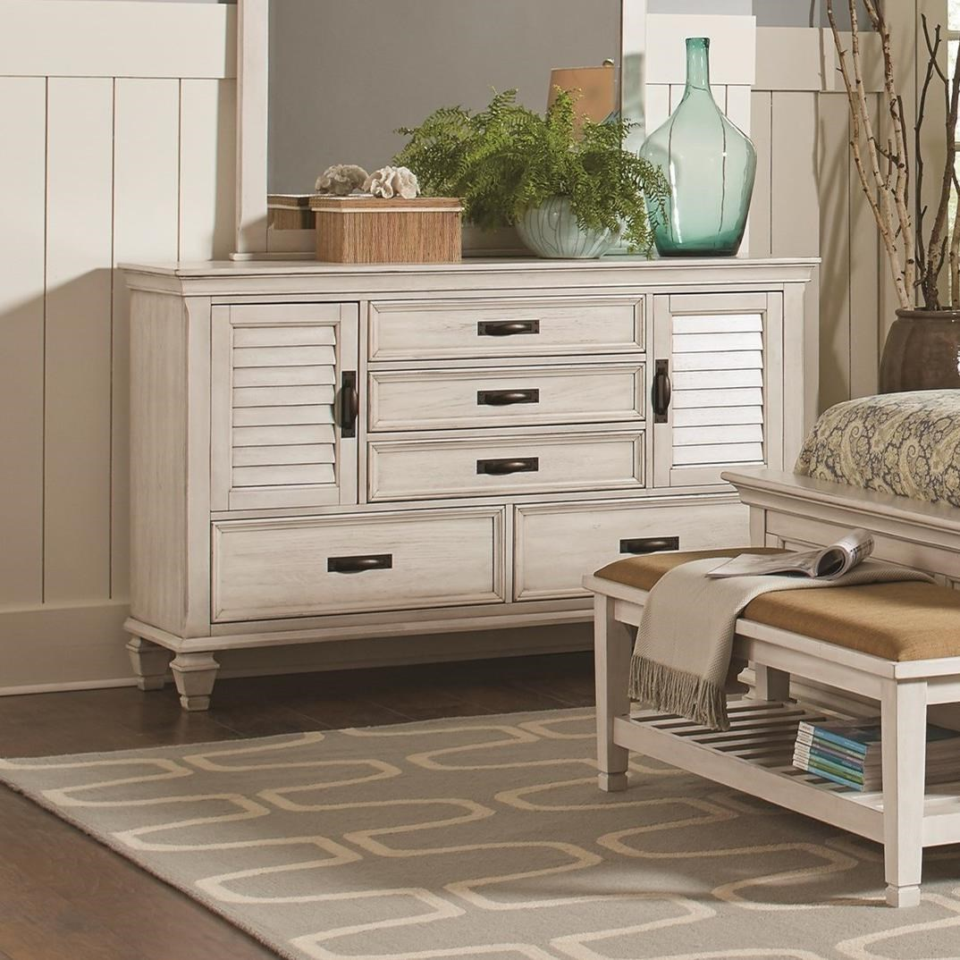 Fine Furniture Stores Near Me: Fine Furniture Franco 205333 5 Drawer Dresser With 2