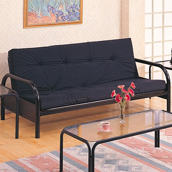 Coaster Futons Casual Metal Futon Frame And Mattress Set Value City Furniture Futons