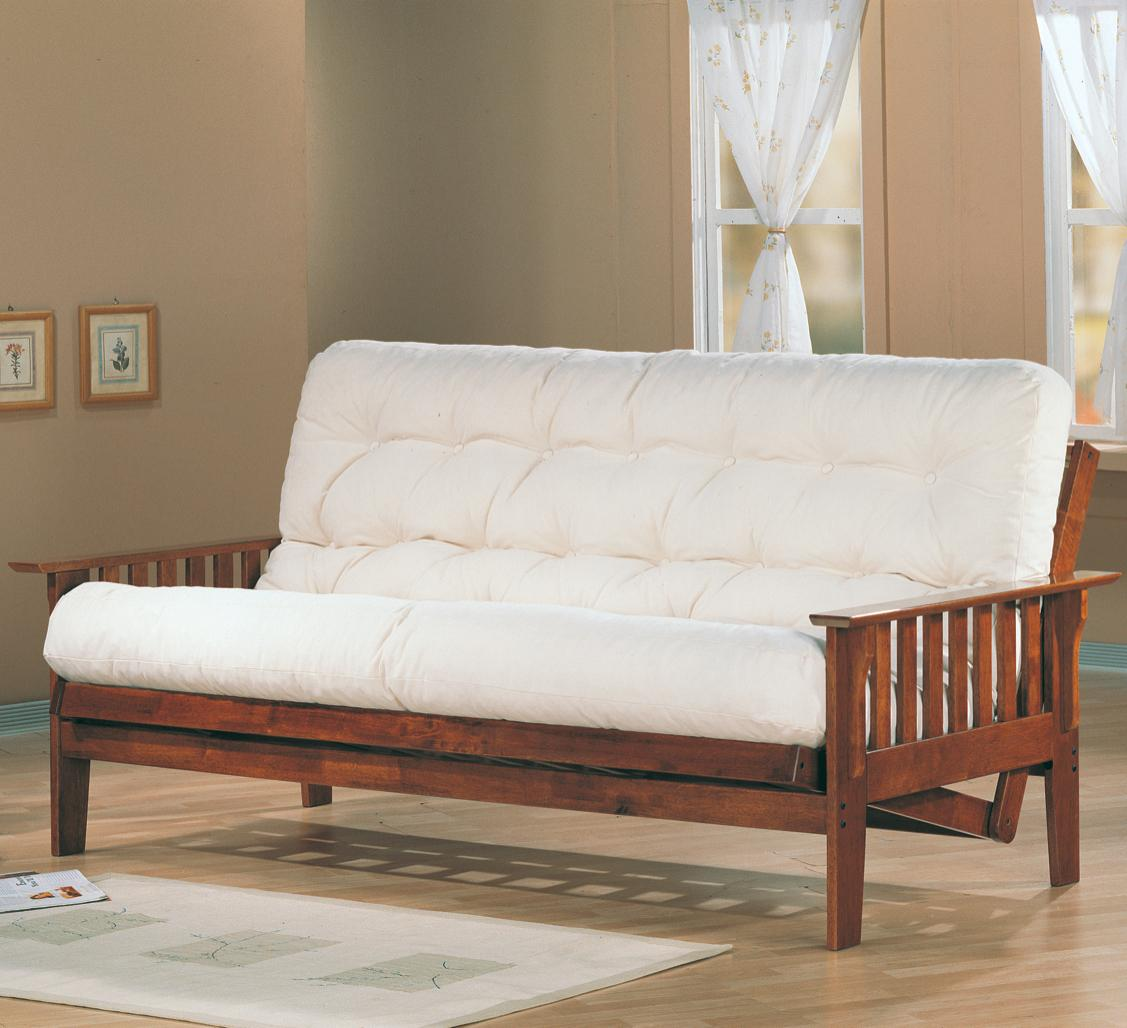Coaster Futons Futon Frame and Mattress - Item Number: 4382+2002