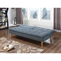 Coaster Futons Sofa Bed with Button Tufting