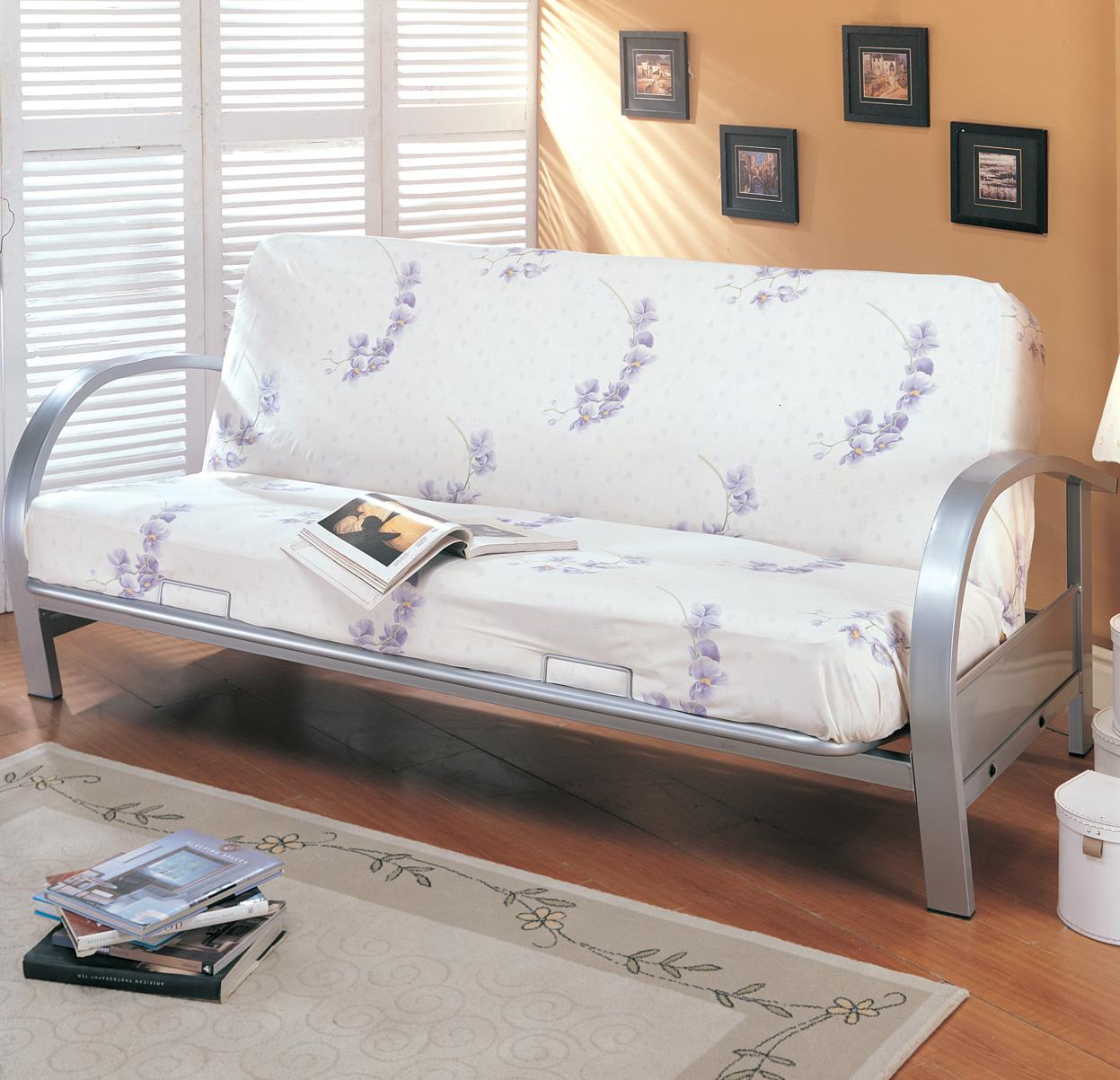 Coaster Futons Futon Frame and Mattress - Item Number: 7251+2002