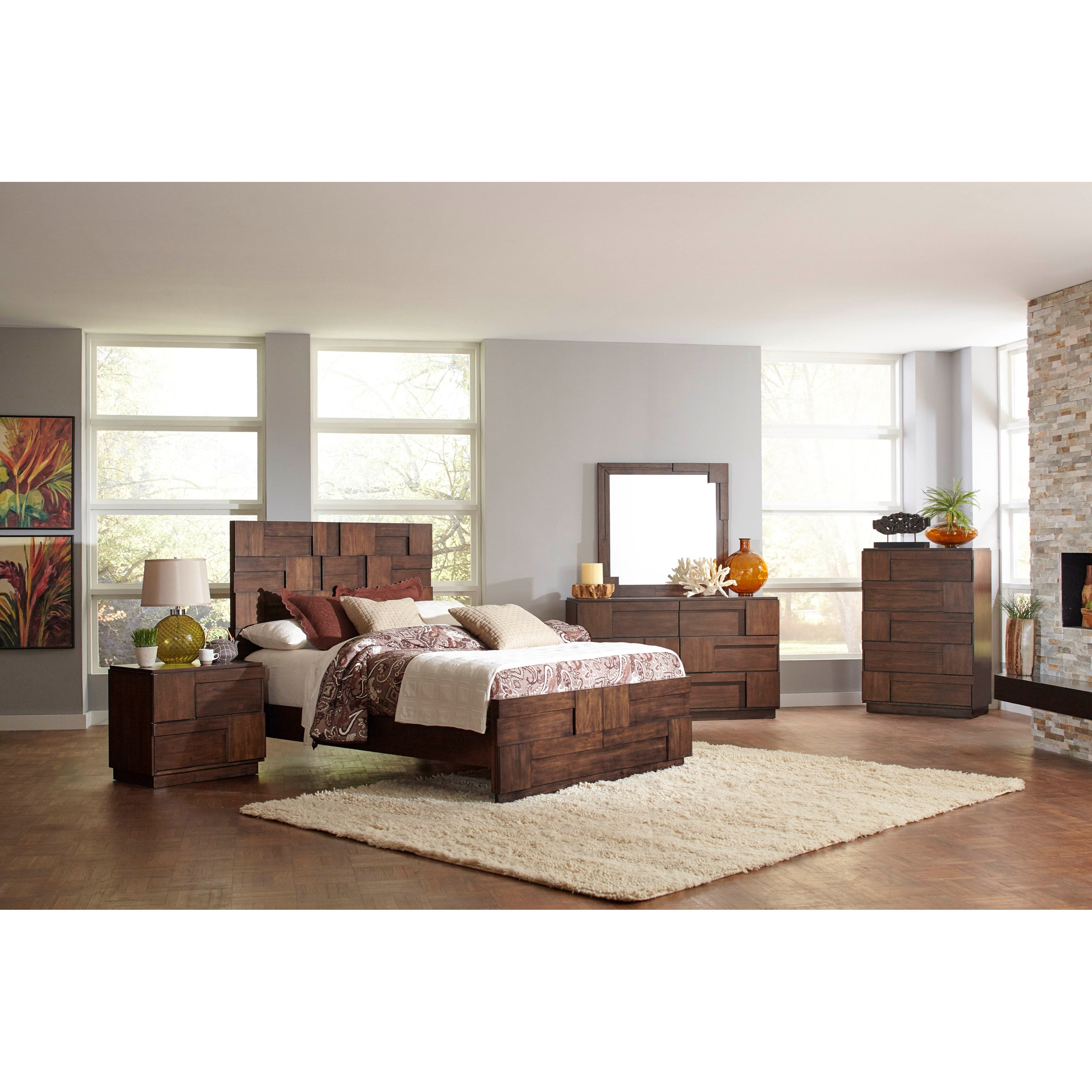 Coaster Gallagher Queen Bedroom Group - Item Number: 200850 Q Bedroom Group 1